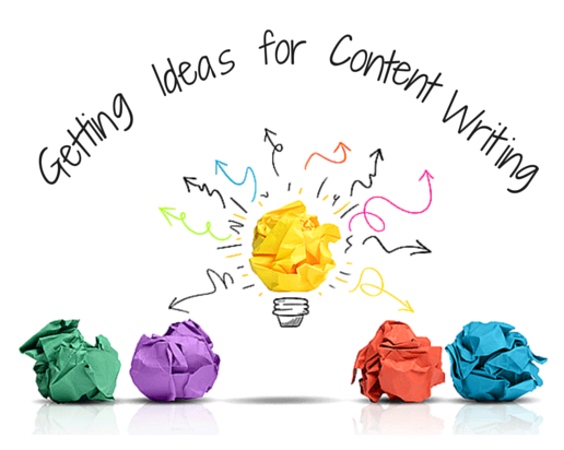 Getting Ideas for Content Writing – A Never-Ending Process