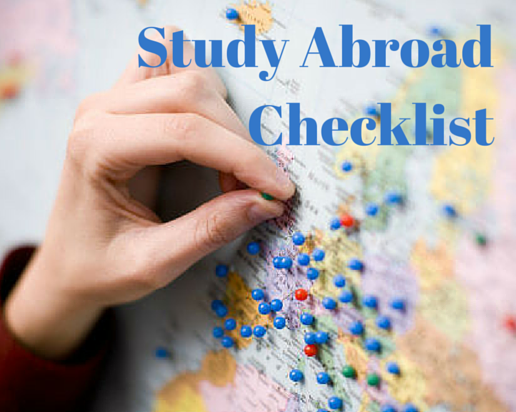 The Ultimate Study Abroad Checklist