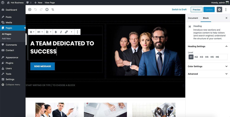 New WordPress Block Editor and WordPress Themes